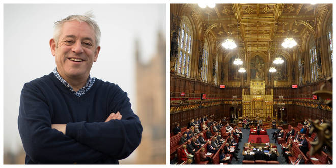 """John Bercow has claimed there is a """"conspiracy"""""""