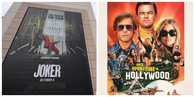 Joker and Once Upon a Time in... Hollywood have the most nominations