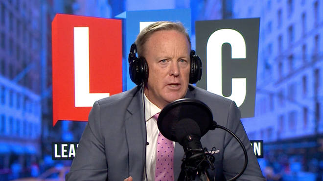 Sean Spicer joined Iain Dale to publicise his new book