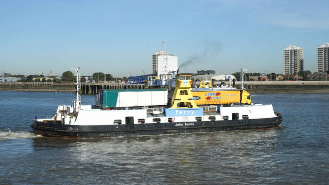 The Woolwich Ferry, which is coming back under TfL control
