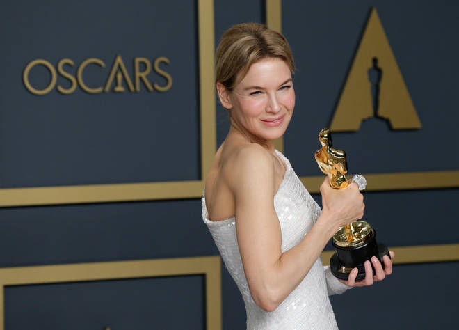 Renee Zellweger took home the Oscar for Best Actress for her portrayal of Judy Garland in Judy