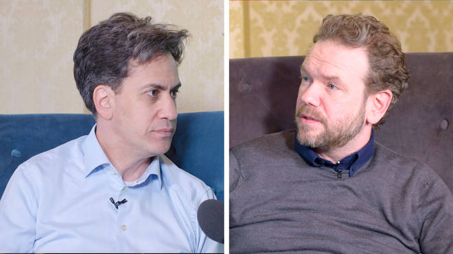 Ed Miliband speaking to James O'Brien on Full Disclosure