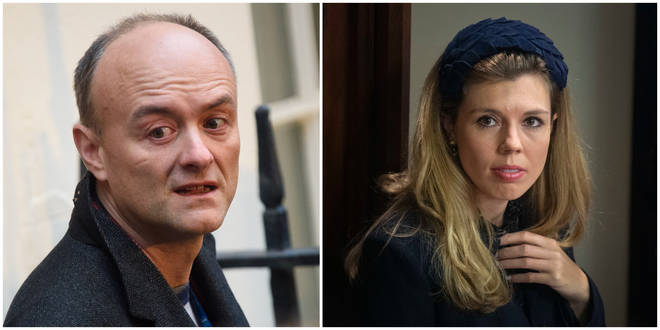Carrie Symonds and Dominic Cummings are said to be at war over a Cabinet reshuffle