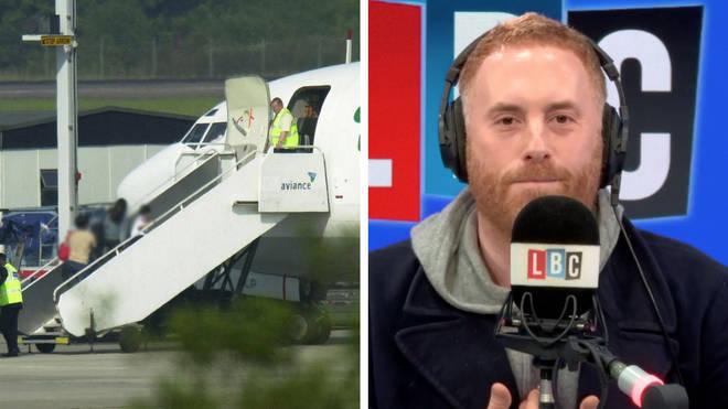 Matt Stadlen urged the government to halt the deportation flights