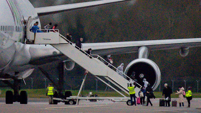 This morning's flight was the final evacuation for British citizens from China