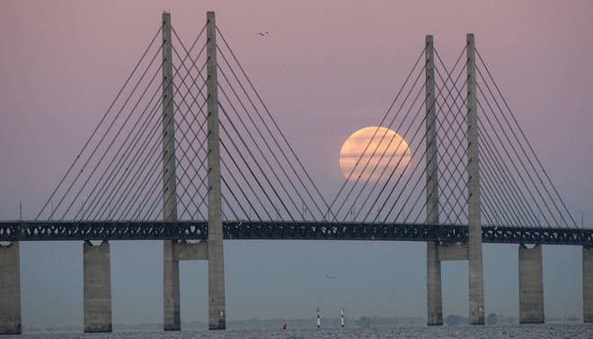 One version of the project would be modelled on the Oresund Bridge between Denmark and Sweden