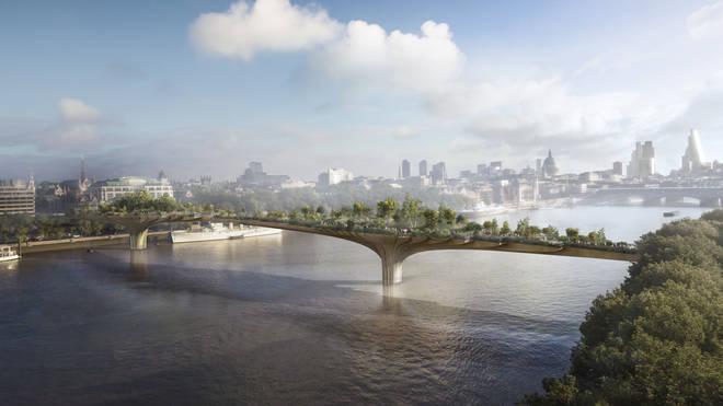 Boris Johnson's planned Garden Bridge across the Thames failed to stay afloat