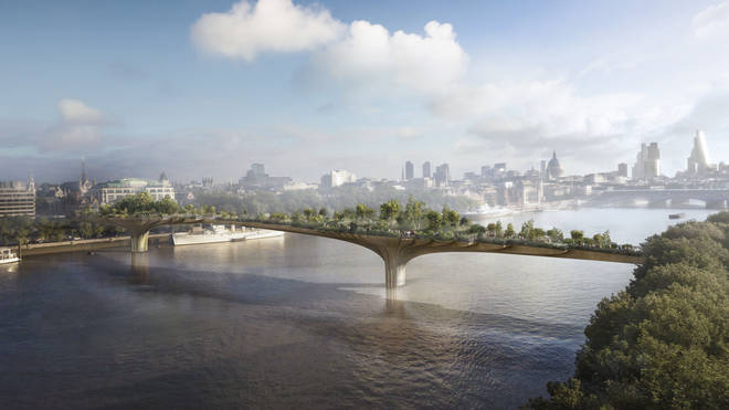 Boris Johnson's planned Garden Bridge across the Thames failed to stay afloat