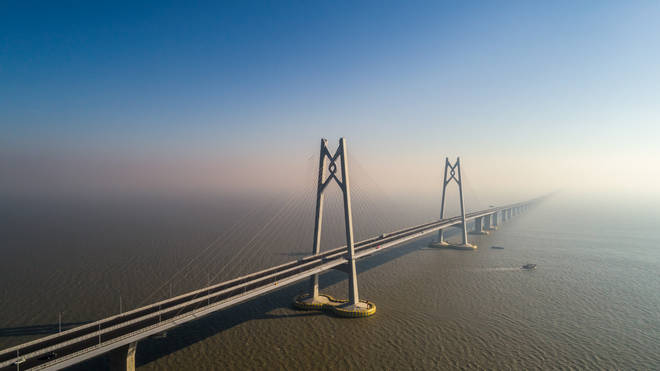 The bridge will need to be 22-miles long (Stock image)