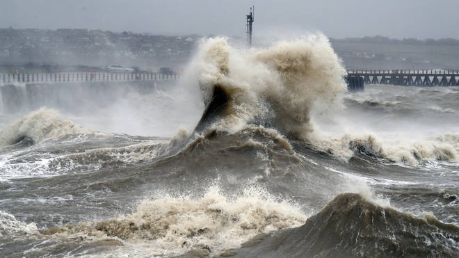 Coastal areas were among some of the worst hit