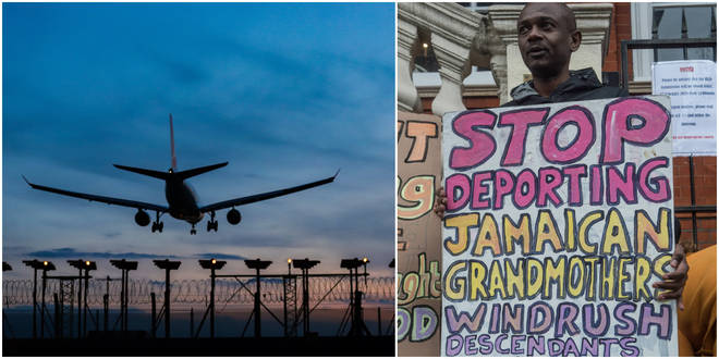 A flight to Jamaica was planned to leave the UK at 6:30am on Tuesday