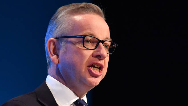Mr Gove confirmed that import controls on EU goods in a speech on Monday