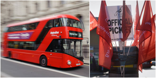 London bus drivers have moved one step closer to strike action