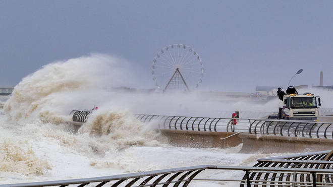 Britain was battered by Storm Ciara overt the weekend
