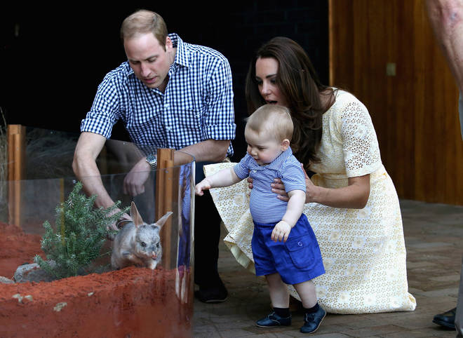 The couple last visited in 2014 with a baby Prince George with them