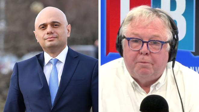 Nick Ferrari spoke to Sajid Javid