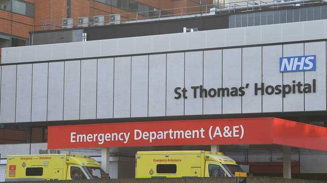 He is currently in St Thomas' Hospital in isolation