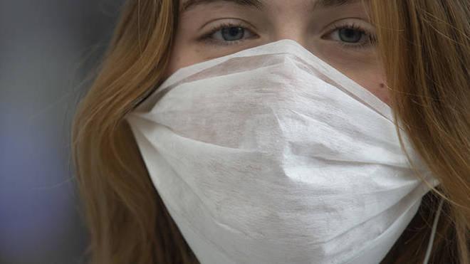 face masks virus