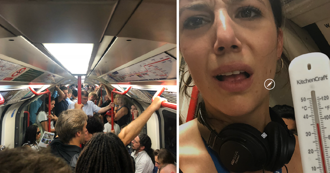 London's Hottest Tube Lines Are Ranked With Temperatures On The Central Line Reaching 36 degrees Celsius