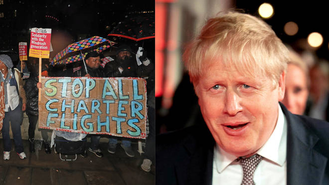 Boris Johnson was reported to be 'furious' over the move to halt deportations