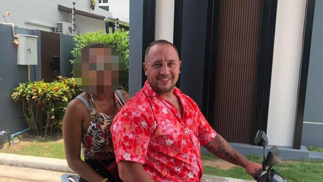 Mark Rumble was extradited from Thailand to the UK over drugs charges which he denies