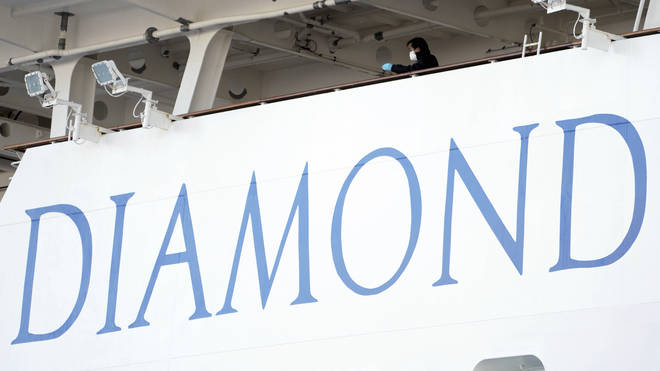 Dozens of Brits are quarantined on the Diamond Princess cruise ship in Japan