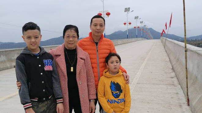 The Chen family have chosen to self-isolate