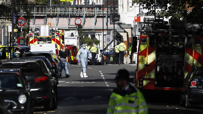 Terror Attack at Parsons Green