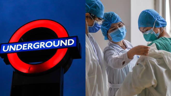 Doctors have warned the London Underground could serve as a hotbed for the COVID-19 coronavirus