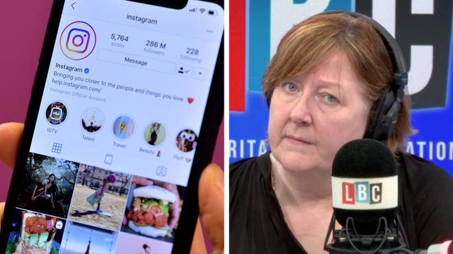 Shelagh Fogarty heard a shocking story about grooming on Instagram