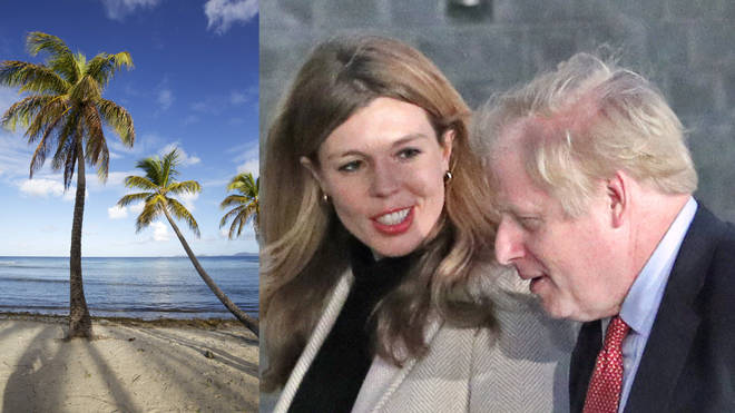 Boris Johnson went on holiday following his General Election landslide win