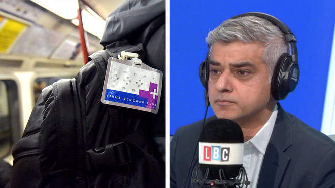 Sadiq Khan told LBC some of the best experts in the world were working to prevent the spread of coronavirus in the UK