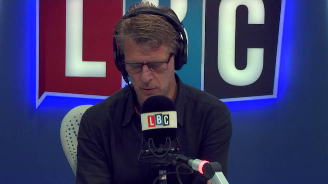 "The caller told Andrew Castle ""I tried to move but I froze on the floor"""