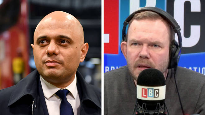 James O'Brien gave his opinion on Sajid Javid's resignation