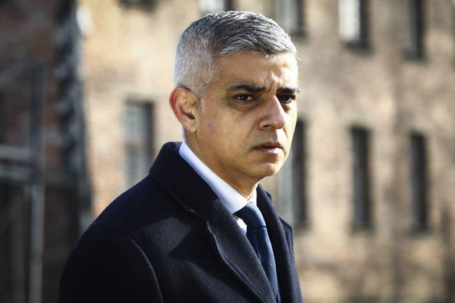 Sadiq Khan at the 75th Anniversary Of Auschwitz