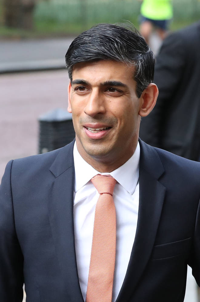 Rishi Sunak has been promoted to replace Mr Javid