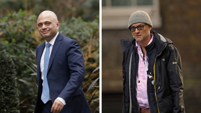 The role of Dominic Cummings in Sajid Javid's decision to step down