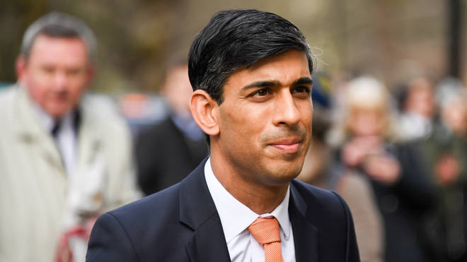 Britain's newly appointed Chancellor Of The Exchequer Rishi Sunak arrives at the Treasury