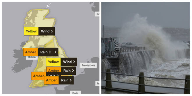 Weather warnings are already in place