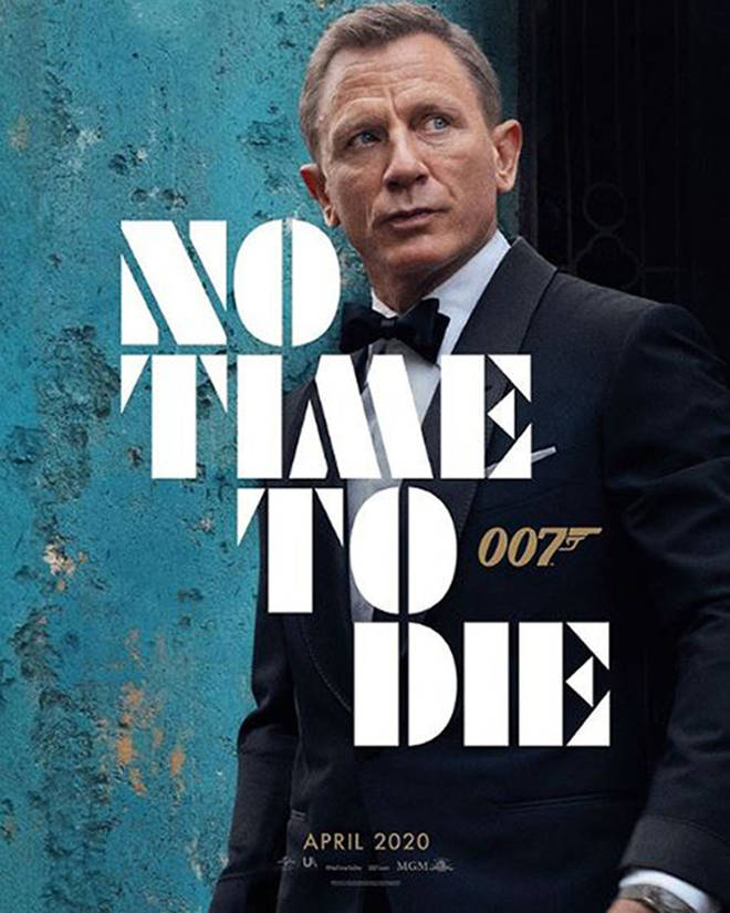No Time to Die is due to be released on 12 April