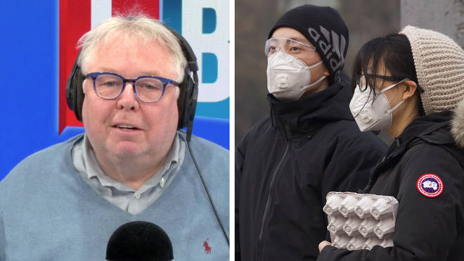 Nick Ferrari read this shocking list about coronavirus on his show