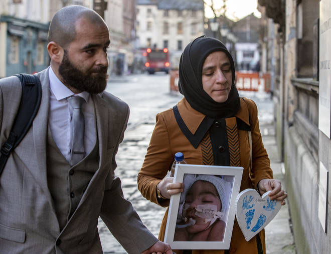 Ali's parents fought the High Court judgement in the Court of Appeal but lost on Friday