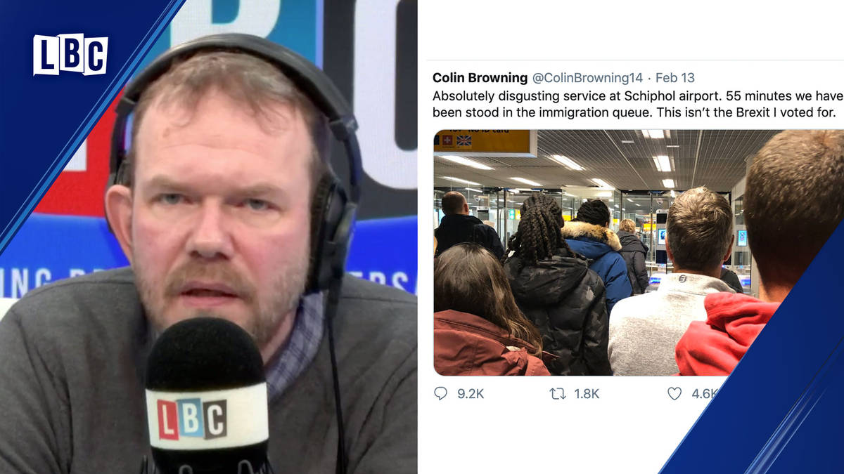James O'Brien tells Remainers: Don't blame Colin, blame the leaders he believed