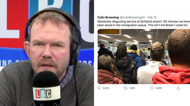 James O'Brien told Remainers to leave Colin alone