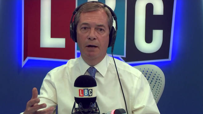 Nigel said the government were in denial and not doing enough