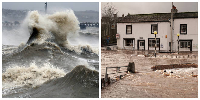More heavy rain and strong gales are expected this weekend