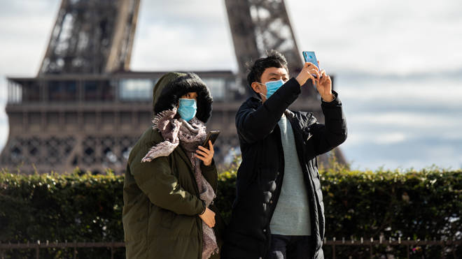 A Chinese tourist died of coronavirus in France