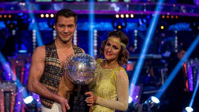 She won the series with partner Pasha Kovalev