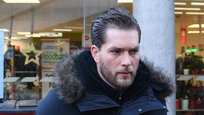 Lewis Burton has stood by Ms Flack in the aftermath of the alleged assault and did not support the case against her