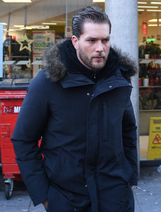 Lewis Burton has told of his devastation after Caroline Flack's death